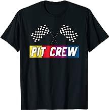 Pit Crew T Shirt for Hosting Race Car Parties Parents Pit