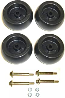 Aftermarket (4) 6916/04-163 Deck Wheels Replaces John Deere M84690 Ariens 03471700, 03905600
