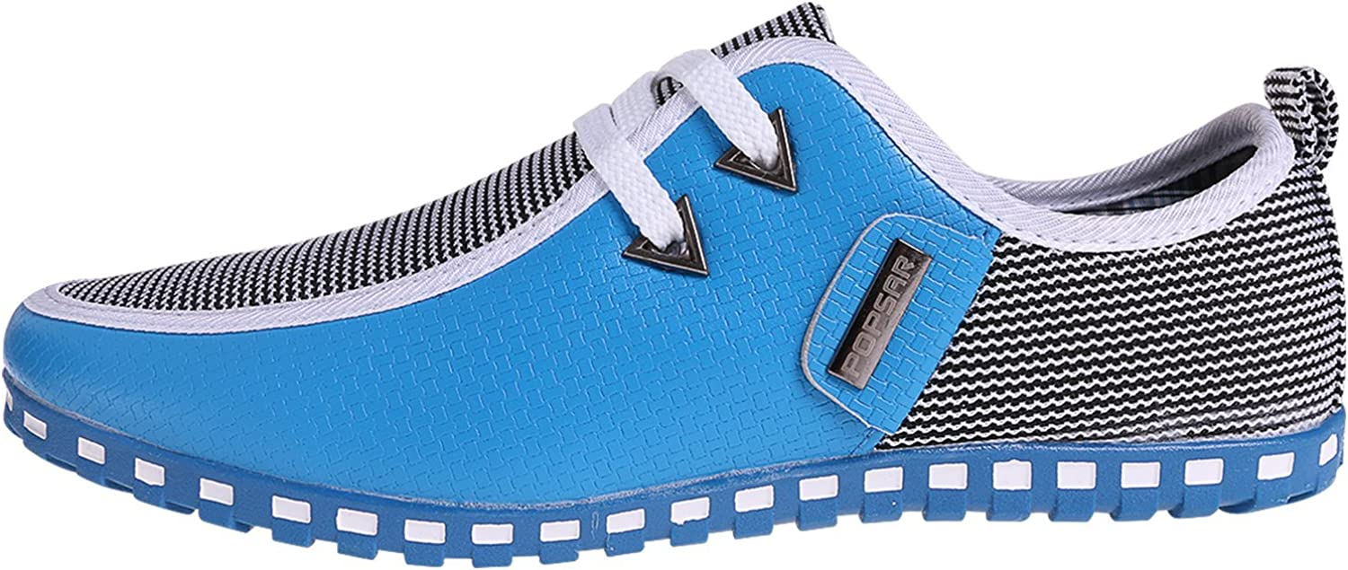Another Summer The Men's Casual shoes Light bluee