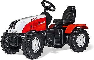 Rolly Toys 035304 - rollyFarmtrac Steyr CVT 6240 für Kinder von 3 bis 8 Jahren, Sitz verstellbar, Flüsterreifen