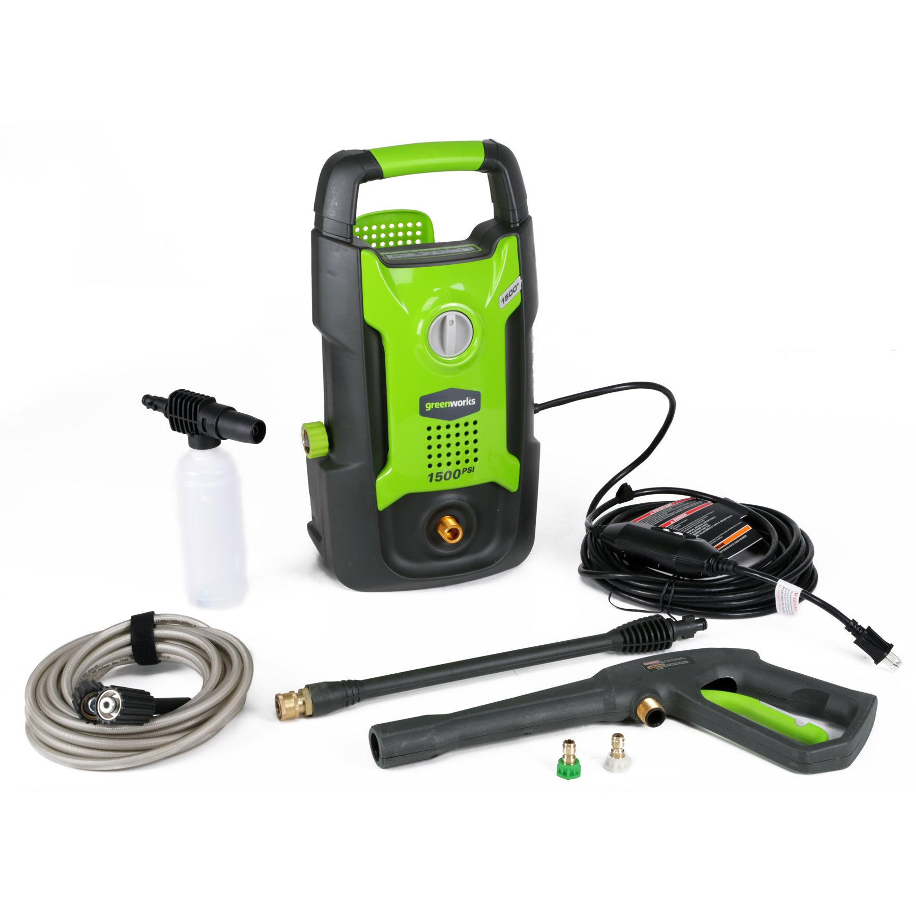 Greenworks 1500 Pressure Washer GPW1501