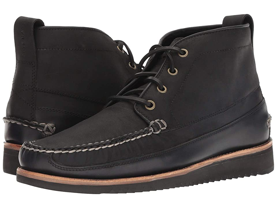 Cole Haan Pinch Rugged Chukka (Black/Black) Men