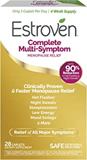 Estroven Complete Menopause Relief | All-In-One Menopause Relief* | Safe and Effective | Reduce Multiple Menopause Symptom...