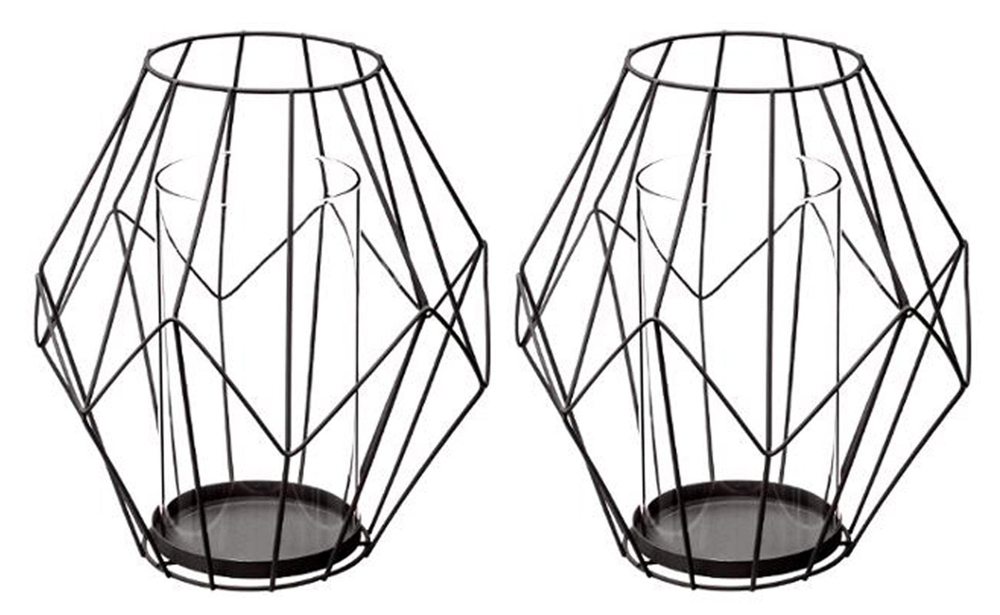 Philippi 123137/Double U Photophore Chrome poli Dimensions sans Bougie 22/X 4,5/X 15/cm