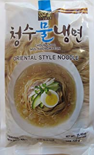 Choung Soo Mul Naengmyeon, Korean Cold Noodle with Soup Base 720g (1 Pack)