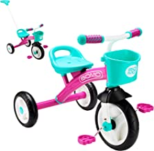 GOMO Kids Tricycles for 2 Year Olds, 3 Year Olds & Kids 1-6, Big Wheels Baby Bike Toddler Bikes - Trikes for Toddlers
