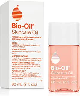 Bio-Oil Skincare Oil, 2 Ounce, Body Oil for Scars and Stretchmarks, Hydrates Skin, Non-Greasy, Dermatologist Recommended, ...