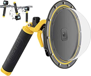enSkate Dome-poort voor GoPro Hero 9 Zwart, onderwaterduikkoffer Cameralensbeschermer met waterdichte behuizing Koffer, pi...
