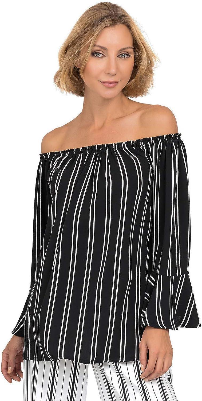 Joseph Ribkoff Women's Top Style 192900 Black, White