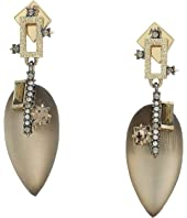 Alexis Bittar - Brutalist Tear Drop Post Earrings
