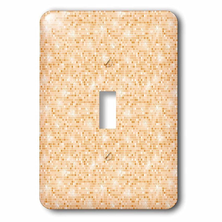 スーツケース赤面理論3dローズLSP 192781?_ 1シックピーチ抽象Sparkling squares-single切り替えスイッチ