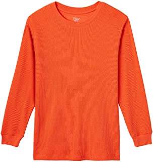 Boys' Long Sleeve Solid Thermal