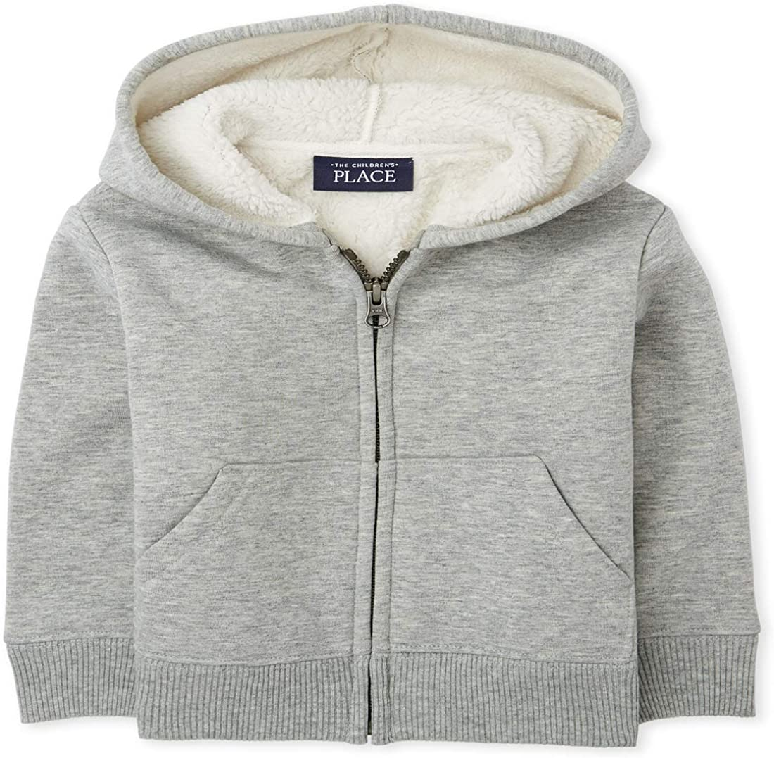 The Children's Detroit Mall Place Boys' Toddler Up Sherpa Sale Zip Hoodie