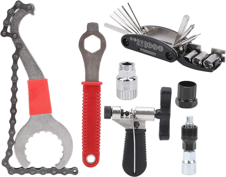 RiToEasysports 7Pcs Bike Repairing Colorado Springs Mall Max 63% OFF Multifunctional Bicycle Tools