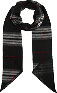 Accessories First Fashionable Exploded Plaid Check Bias Cut Super Soft Acrylic Scarf for Women