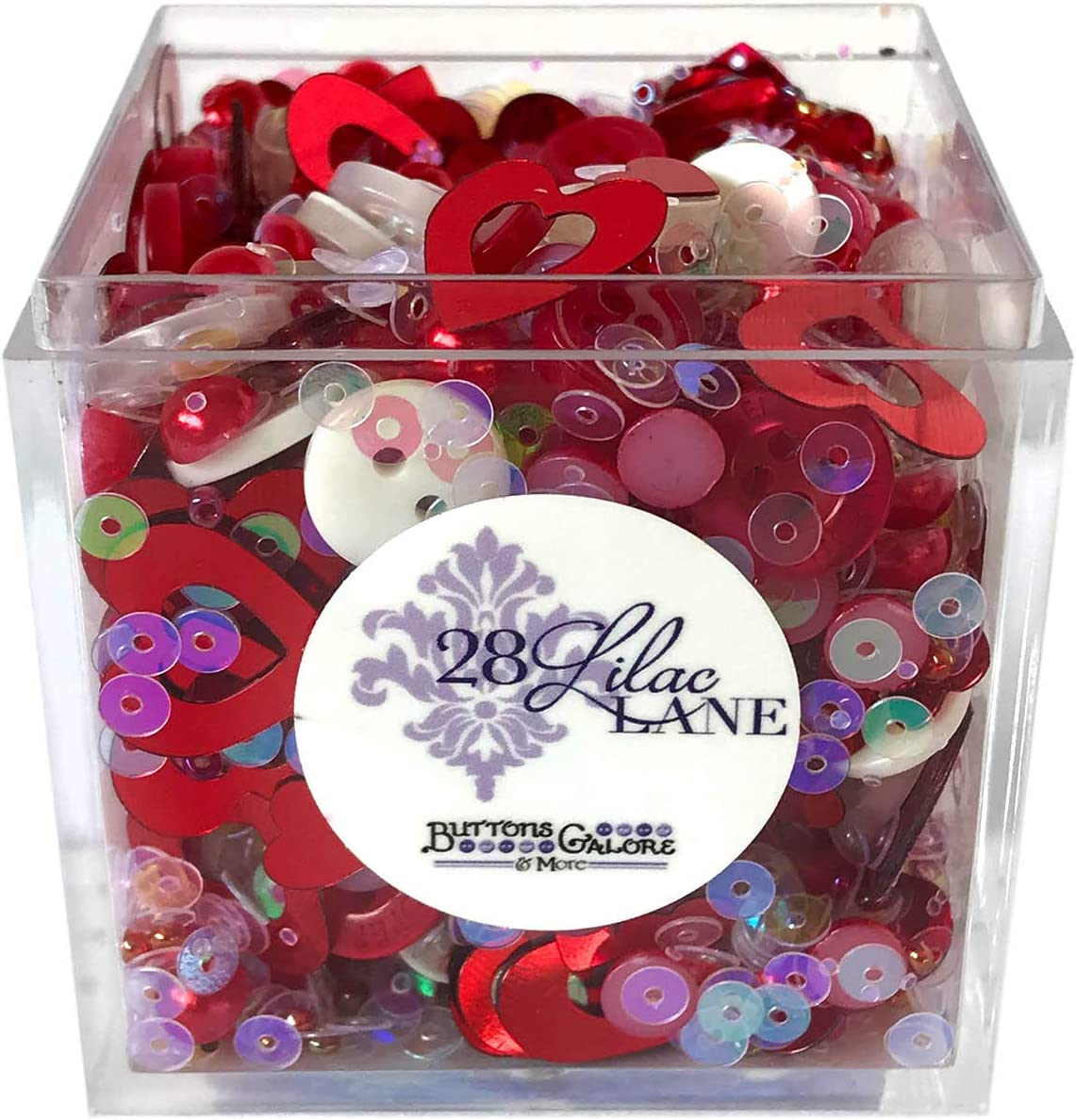 Love is in The Air Max 77% OFF Shaker Mix Bead Buttons 60 Sequins Virginia Beach Mall Grams Seed