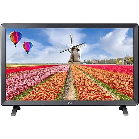 LG 24TL520S-PU TV Monitor, 24 Screen, LED-Lit, 1366 x 768 Pixels, 16: 9, 1 HDMI, 1 USB, 60 Hertz, color Negro SMART