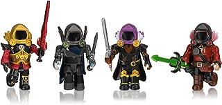 Roblox Action Collection - Dominus Dudes Four Figure Pack [Includes Exclusive Virtual Item]