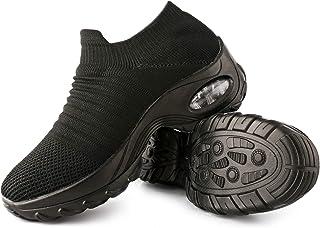 Womens Walking Shoes Slip On Women's Sock Sneakers with...