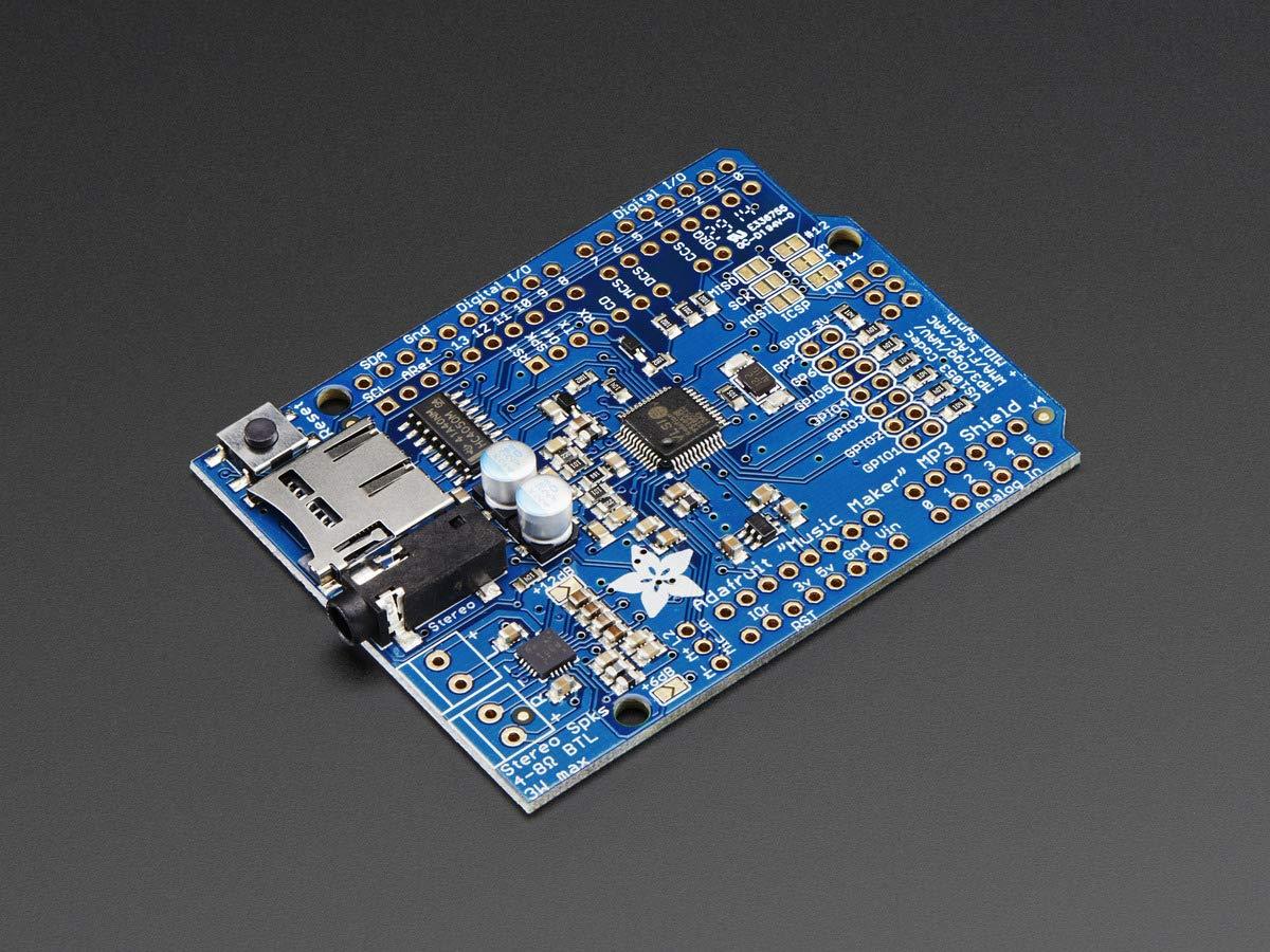 Adafruit Music Shield Arduino Stereo