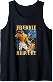 Freddie Mercury Official Live Homage Champion Tank Top