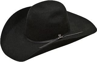 Black Wool 4.5in Brim with 2-cord Black Band Felt Hat