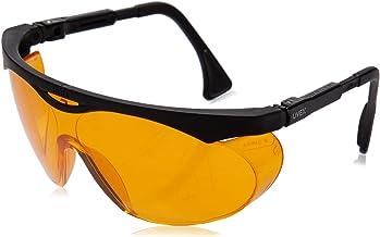 Uvex S1933X Skyper Safety Eyewear, Black Frame, SCT-Orange UV Extreme Anti-Fog Lens (6-Pack)