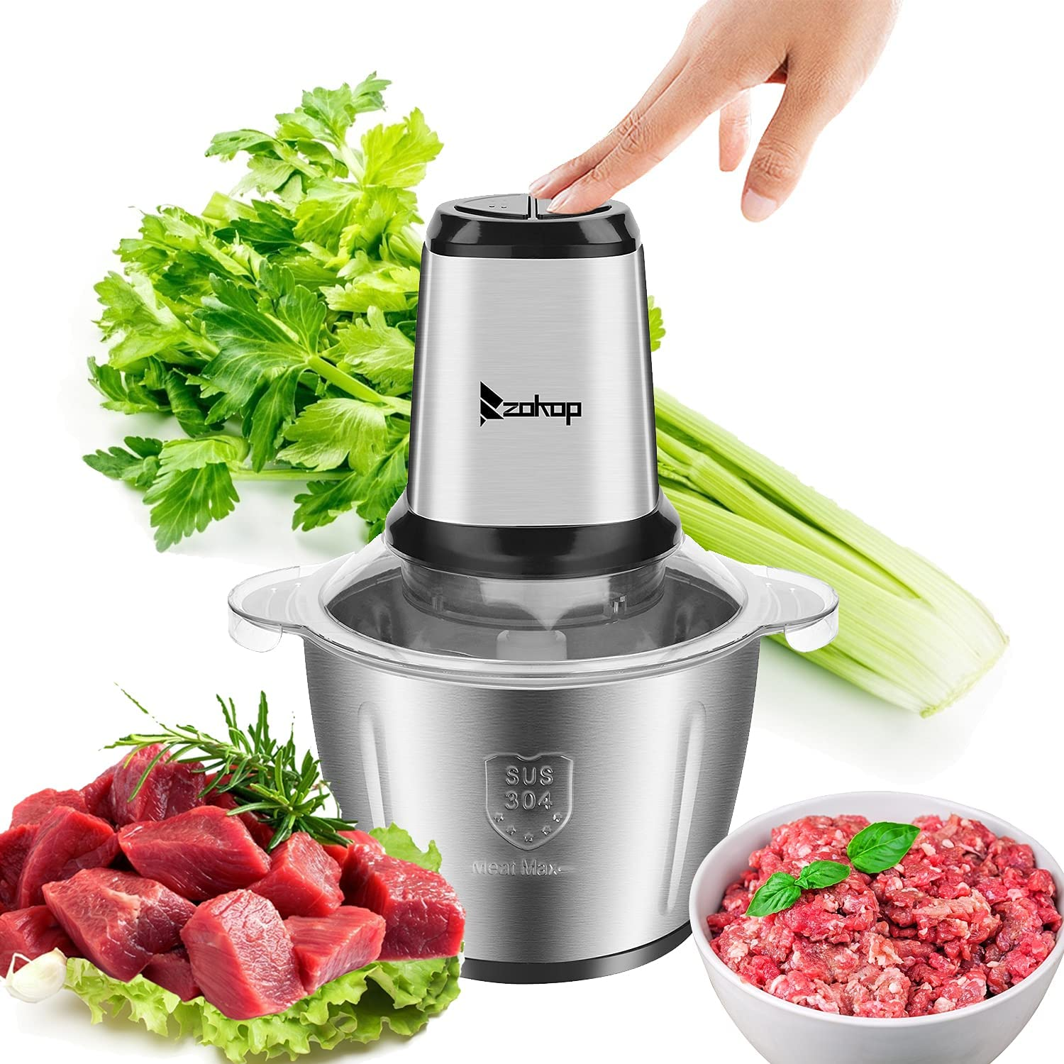 ZOKOP Special Campaign Electric Meat Grinder 2.8L S Max 63% OFF Capacity Professional Large