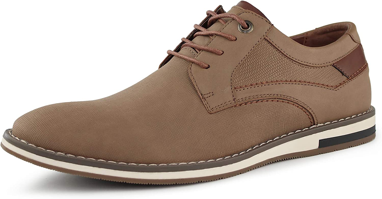 MERRYLAND Men's Lace Up Casual Oxford Shoes