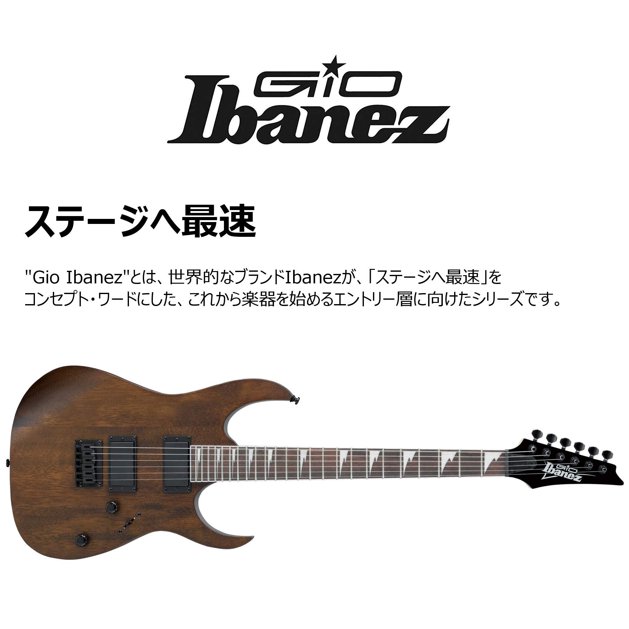 Gio GRG121DX-WNF Walnut Flat: Amazon.es: Instrumentos musicales