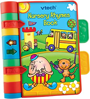 VTech Baby Nursery Rhymes Book | Light Up, Interactive, Musical Baby Book with Sounds & Phrases | Suitable for Babies from 6 Months+