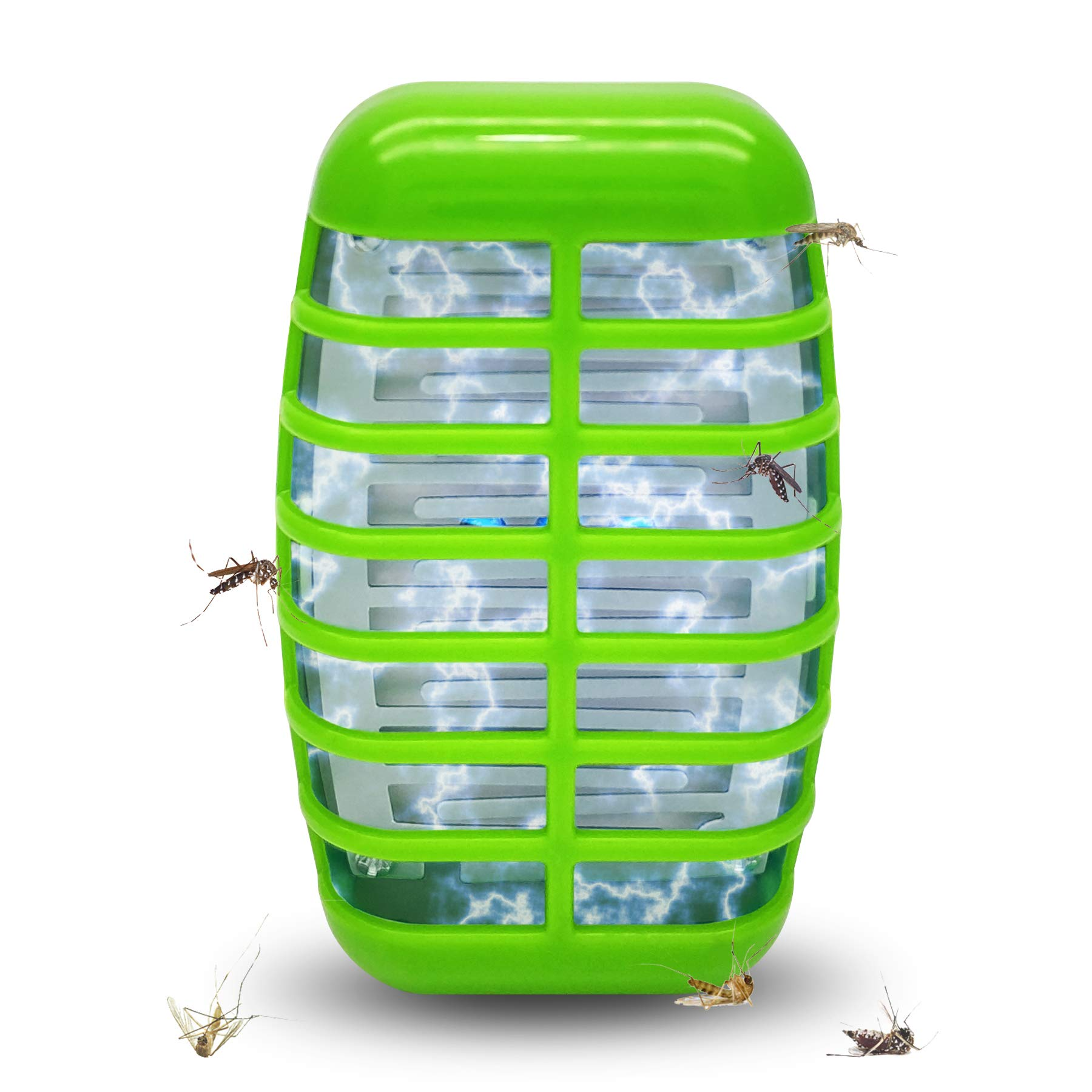 Eliminates Gnats Fruit Flies/& Flying Pests Mosquito Killer Lamp Pest Repellent 2020 Upgraded Plug-in Electronic Insect Killer Night Light,