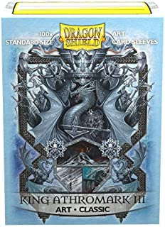 Dragon Shield Classic Art Coat of Arms King Athromark III Standard Size 100 ct Card Sleeves Individual Pack