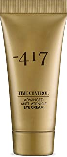 -417 Dead Sea Cosmetics Eye Cream- Natural Time Control Recovery For the eye Area- Peptide Anti-Wrinkle Firming and Tightening Retinol Cream 1 oz