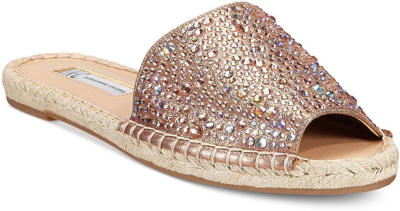 I35 Ilta2 Slide Espadrille Sandals, Copper