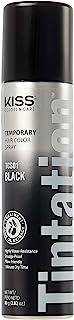 اسپری رنگ مو موقت KISS Tintation (TCS01 - مشکی)