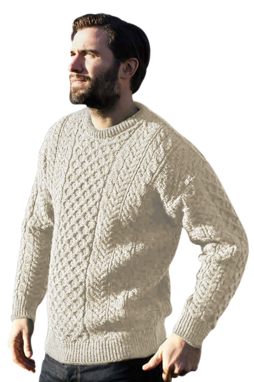 Fisherman Knit Sweater Pattern - Design Patterns