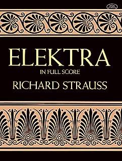 Elektra in Full Score