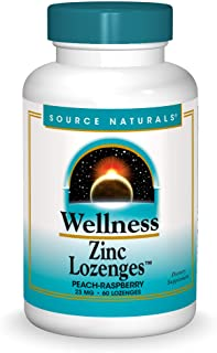 Source Naturals - Wellness Zinc Lozenges - 60 tabs