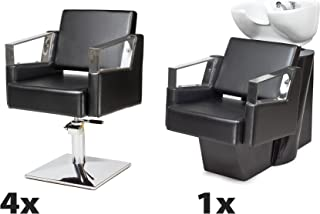 Amazon.es: sillones peluqueria - Sillas de barbero ...