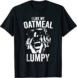 i like my oatmeal lumpy t shirt