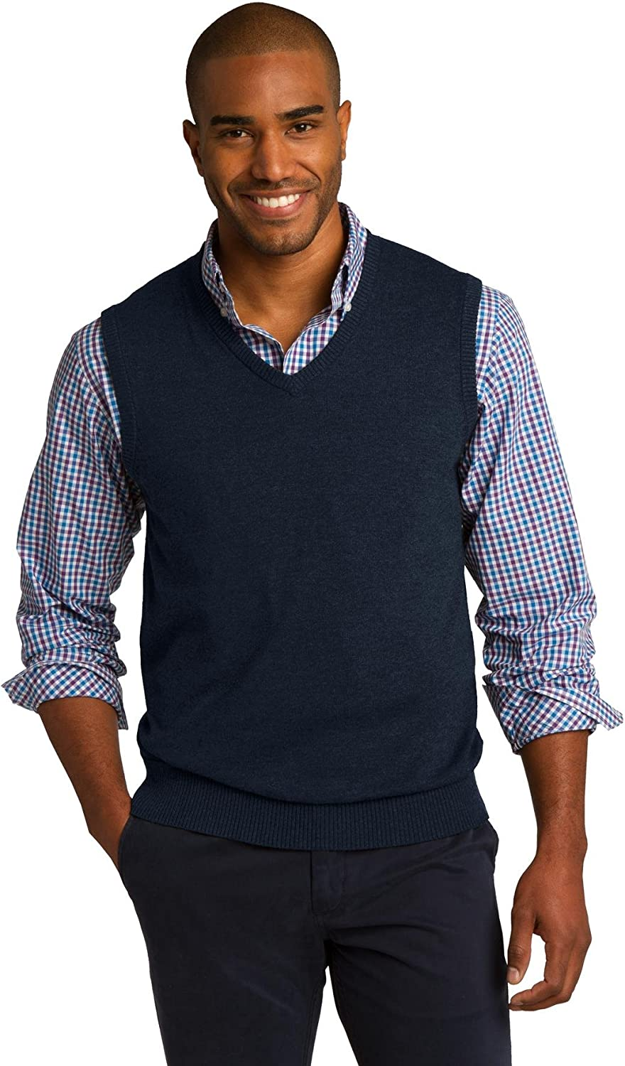 Port Authority Max 42% Reservation OFF Sweater SW286 Vest.