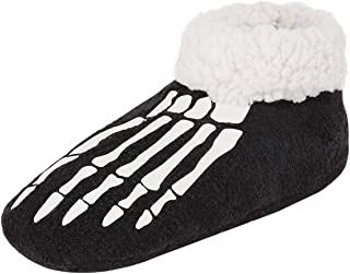 Nonskid Slipper Socks for Women Fuzzy Plush Moccasin Slipper Boots Breathable Ankle Boot Warm Shoes Memory Foam Bootie Cozy Bottom Footwear for Bedroom Home House Indoor Outdoor Winter
