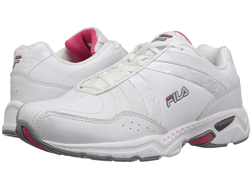 Fila Admire Wide Training (White/Monument/Hot Pink) Women