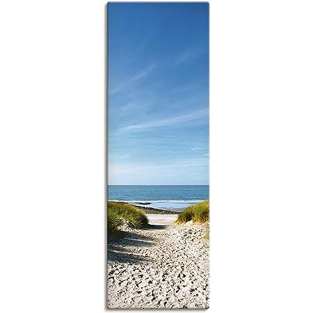 Glasbilder Wandbild Strand auf der Insel Seychellen Meer bucht 50x100