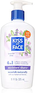 Kiss My Face, Moisture Shave Lavender And Shea, 11 Fl Oz