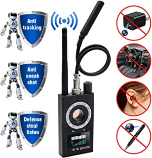 Anti Spy Detector & Camera Finder RF Signal Detector GPS Bug Detector Hidden Camera Detector for GSM Tracking Device GPS Radar Radio Frequency Detector