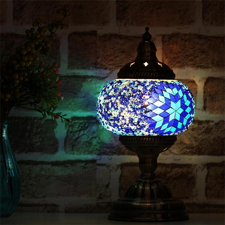 Uncle Sam LI-Handgefertigte Glasfarbe Überlauf Kaffee Café-Bars türkischen Mittelmeer-Mosaik Lampe B01CZLPWMC | Wirtschaft