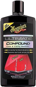 Meguiar's G17216EU Ultimate Compound Colour & Clarity Restorer 450ml for hand or machine polisher application: image