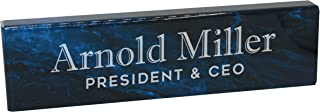 Best marble name plates for desk Reviews